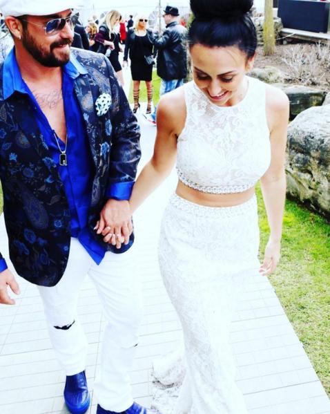 Отец Джастина Бибера со своей невестой, фото из Инстаграма