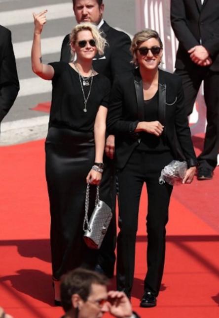 Кристен Стюарт и Алисия Каргайл на Каннском кинофестивале фото май 2016