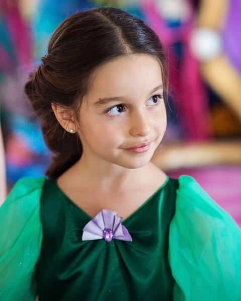 Фото старшей дочери ксении Бородиной Маруси в день рождения 10 июня 2016
