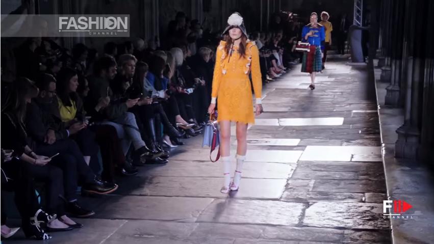 Модный дом Gucci представил круизную коллекцию 2017, видео