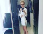 Пост Маши Малиновской о распродаже б/у одежды в Инстаграме