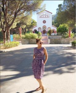 Фото Анфисы Чеховой во время отпуска на греческом острове Родос в 2016, Инстаграм