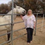 Дебби Роу увлекалась лошадьми, фото из Инстаграма