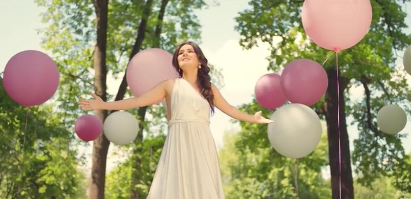 Дина Гарипова: новое видео на песню «Ты для меня»