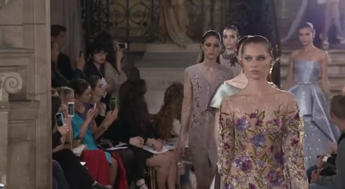 Парижская неделя высокой моды: Georges Hobeika, Zuhair Murad, Elie Saab, видео
