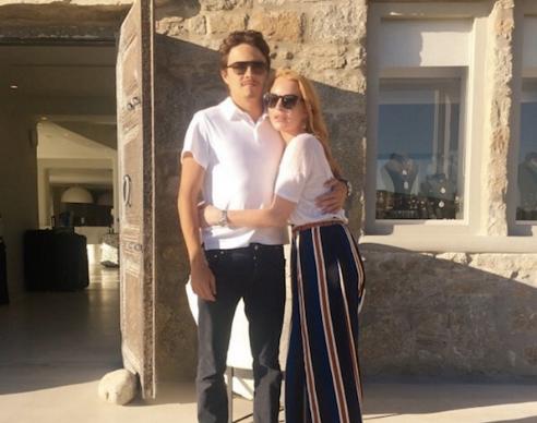 Линдси Лохан обвинила Егора Тарабасова в измене, намекнула на беременность