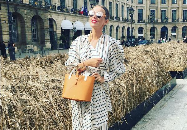 Ксения Собчак посетила Неделю моды в Париже в июле 2016