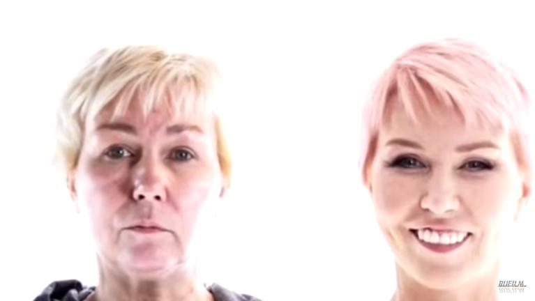 Ксения Стриж в программе «На 10 лет моложе», видео