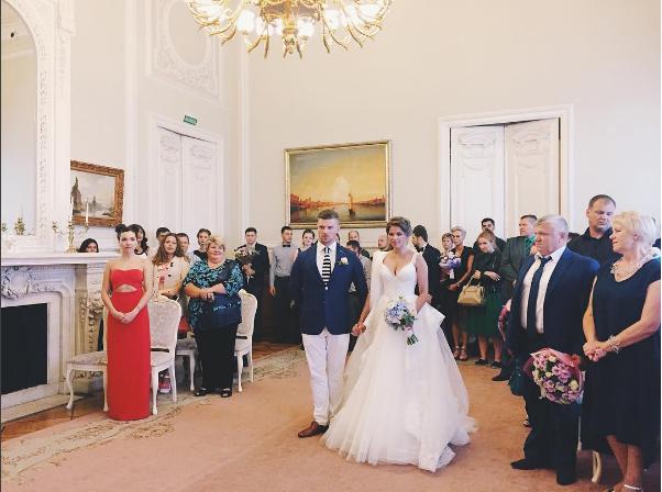Игорь Чехов и Юлия Топольницкая свадьба, фото из Инстаграма Виктории Киселевой
