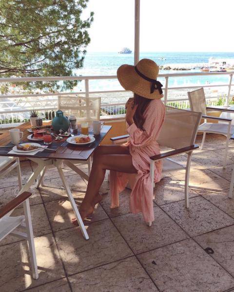 Алена Водонаева фото в Монако, июль 2016
