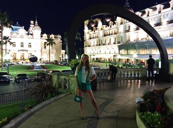 Алена Водонаева фото во время отдыха в Монако 2016