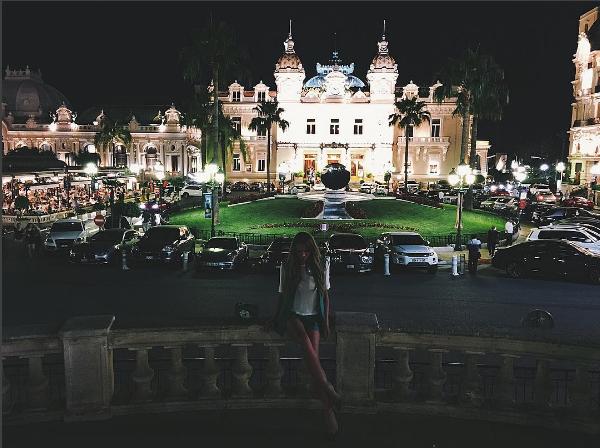 Алена Водонаева в Монако, фото июль 2016