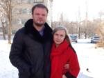 На фото Анастасия Дашко и её муж Константин Кулешов