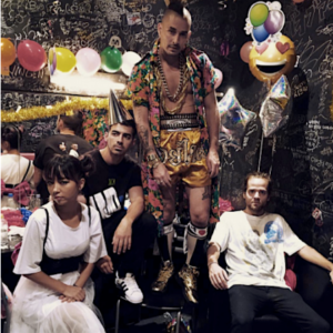 Группа DNCE фото через год со дня основания