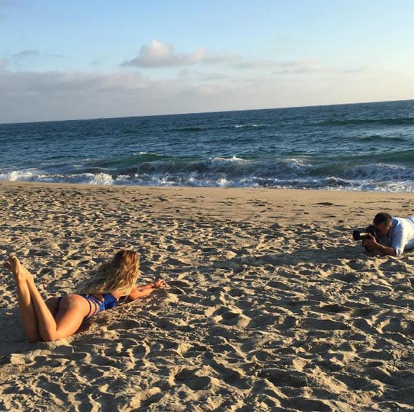 Юлия Ефимова Рио: фото на пляже