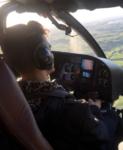 Джо Джонас отмечает свой день рождения, фото из Инстаграма предположительно во время вертолетной прогулки