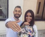 Свадебное фото Мота и Марии Гураль, пост в Инстаграме Марии