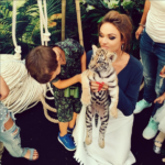 Алена Водонаева фото с сыном 2016