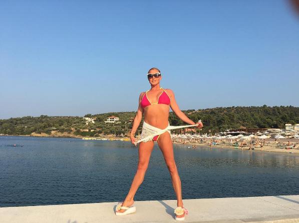 Анастасия Волочкова фото 2016 в Греции
