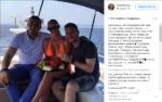Волочкова в компании неизвестных мужчин фото сделано во время морской прогулки в Греции июль-август 2016