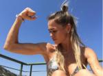 Пост и фото Анны Хилькевич с ответом на подозрения в анорексии, сентябрь 2016