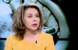 """Божена Рынска фото 2016 во время интервью на канале """"Дождь"""""""