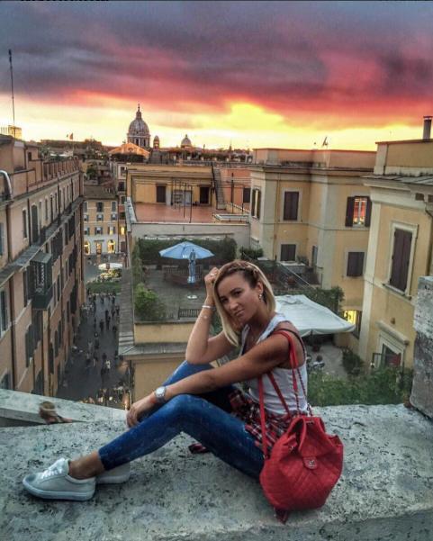 Ольга Бузова фото в Риме сентябрь 2016