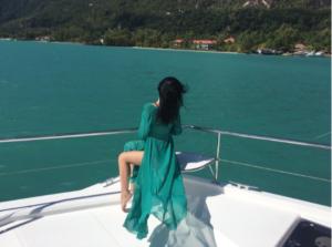 Екатерина Вертопрахова фото на Сейшельских островах,Инстаграм