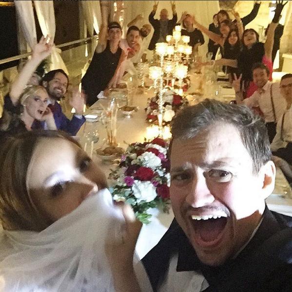 Андрей Гайдулян и Диана Очилова отпраздновали свадьбу в Италии в сентябре 2016, фото из Инстаграма Дианы