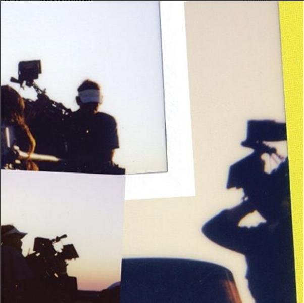 Фото процесса работы над новой песней Леди Гага