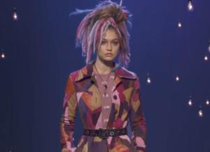Фото с показа весенне-летней коллекции одежды Марка Джейкобса на Неделе моды в Нью-Йорке сентябрь 2016