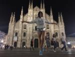Фото Настасьи Самбурской в Италии 2016