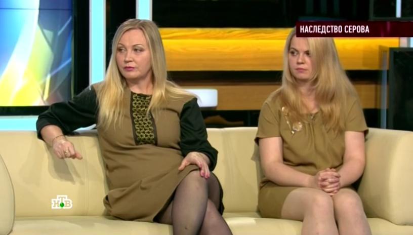 Внебрачная дочь Александра Серова в передаче «Говорим и показываем», видео