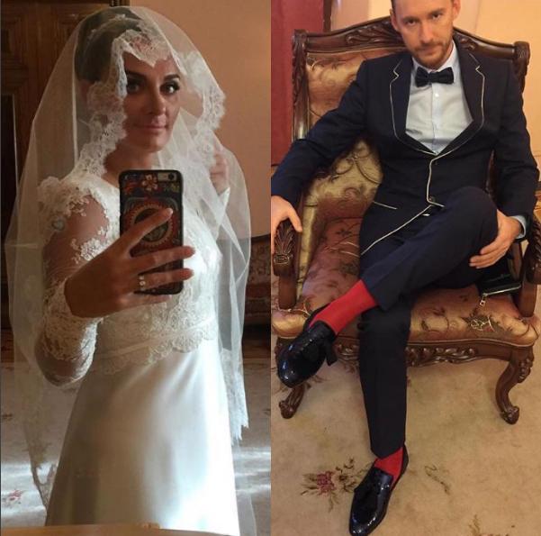 Елена Ваенга и Роман Садырбаев. свадебные фотографии
