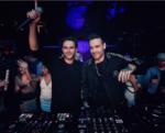 Фото Лиама Пейна и Зедда (Антона Заславского) во время совместного выступления в клубе в октябре 2016