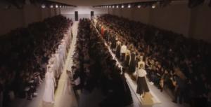 Фото с показа Диор на Неделе моды в Париже 2016