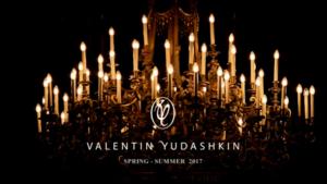 Заставка к показу коллекции Валентина Юдашкина на Неделе моды в Париже 2016