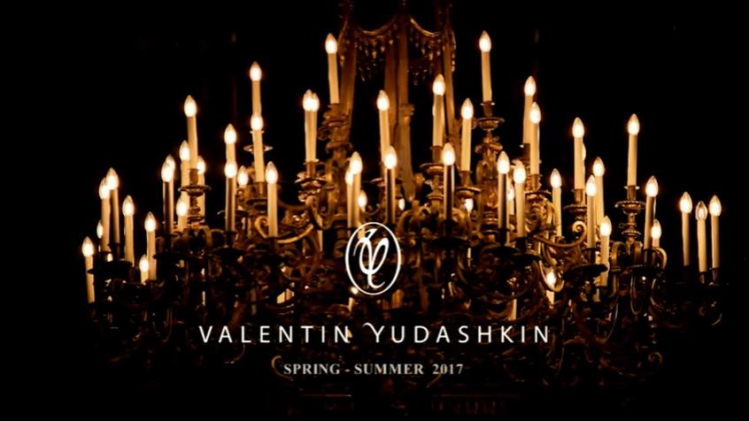 Коллекция Валентина Юдашкина весна-лето 2017, видео показа в Париже