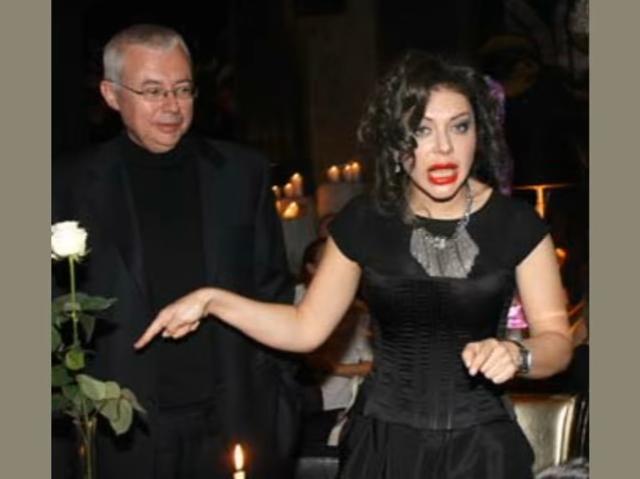 На фото Божена Рынска и Игорь Малашенко