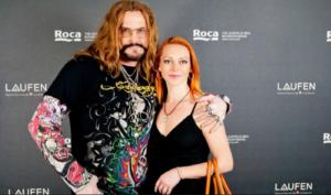 На фото Марина Анисина и Никита Джигурда