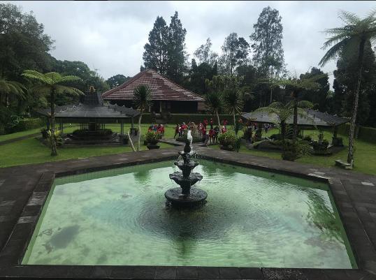 Фото из Инстаграма Нелли Ермолаевой: Бали, ноябрь 2016