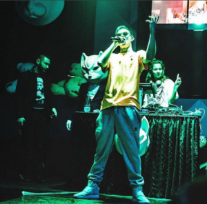 Рэпер Кравц на сцене, фото из Инстаграма 2016