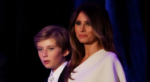 Фото Мелании Трамп с сыном Барроном Трампом ноябрь 2016