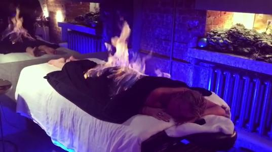 Анастасия Волочкова «горела синим пламенем», фото