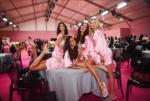 Ирина Шейк с моделями Кендалл Дженнер, Джоан Смоллс, Лили Дональдсон во время съёмок шоу Виктория Сикрет 2016 год, фото из Инстаграма Ирины Шейк