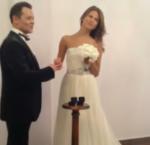 Вадим Казаченко и его жена Ольга фото в день свадьбы