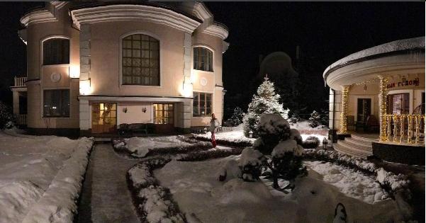 Анастасия Волочкова: фото в ледяной купели, видео дома в новогоднем убранстве
