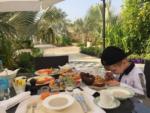 Сын Антона Гусева и Евгении Феофилактовой фото в Дубае в январе 2017 из Инстаграма Гусева
