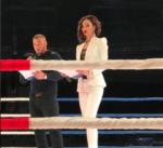 Ольга Бузова фото 2017: на ринге в качестве ведущей