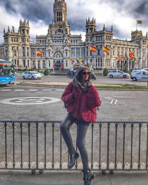 Ольга Бузова фото январь 2017 в Испании